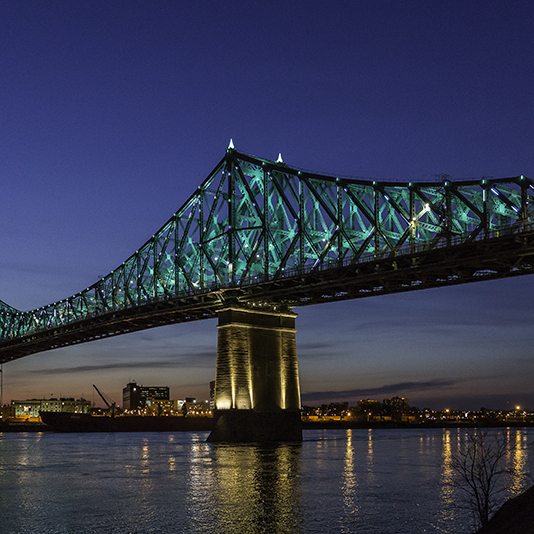 © Les Ponts Jacques Cartier et Champlain Incorporée - © The Jacques Cartier and Champlain bridges incorporated