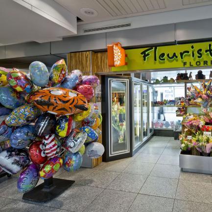 Dutch Square Mall >> Airport Florist - Public Area - Arrivals